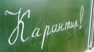 Мелитопольские школьники идут на карантин с завтрашнего дня