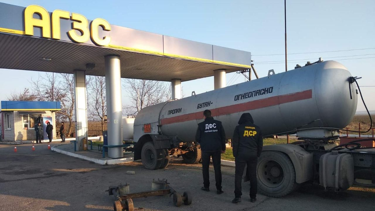 У Запорізькій області демонтували дві нелегальні газові заправки, – ФОТО