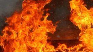 В Запорізькій області з пожежі врятували людину