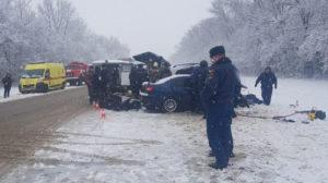 В Росії в автомобільній аварії загинула мешканка Запорізької області
