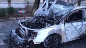 Полиция прокомментировала поджог авто запорожского активиста