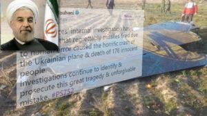 Президент Ирана подтвердил, что украинский лайнер был сбит ракетой