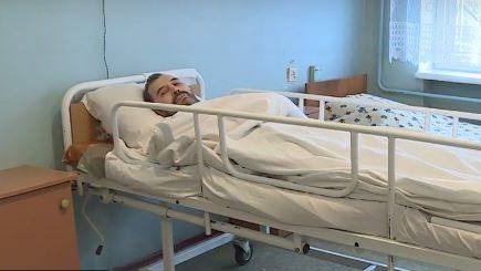 Без здоровья и памяти: в запорожской больнице лежит пациент, прибывший с Италии, — ВИДЕО