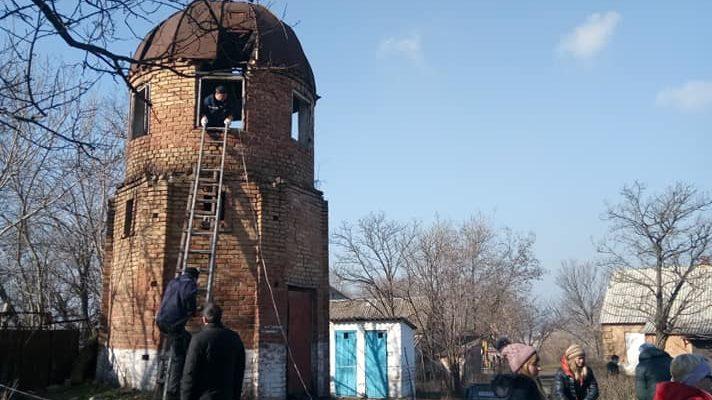 Под Запорожьем местные жители восстанавливают уникальную обсерваторию, — ФОТО