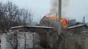 В Запорожье дети едва не сожгли двухэтажный дом, — ВИДЕО
