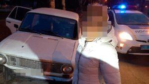В Запорожье женщина угнала авто, и гоняла на нем по ночному городу, — ФОТО