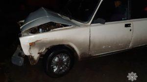 Не прокатило: у Запоріжжі поліцейські не повірили п'яному водієві, який вчинив ДТП, — ФОТО