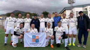 Запорізькі ветерани взяли срібло на міжнародному футбольному турнірі в Іспанії