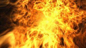 В Запорожье в пожаре едва не погиб 60-летний мужчина