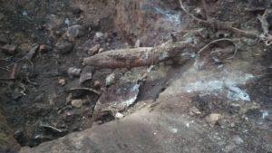 В запорізькому аеропорту знайшли артилерійський снаряд