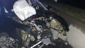 В Запорожье «Tesla» попала в ДТП: один человек серьезно травмирован, — ФОТО