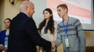Переможцем національного проєкту «Молодь дебатує»  став школяр з Запоріжжя Богдан Козлов