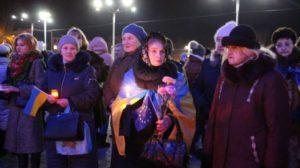 У центрі Запоріжжя вшанували пам'ять Героїв Небесної сотні, – ФОТО