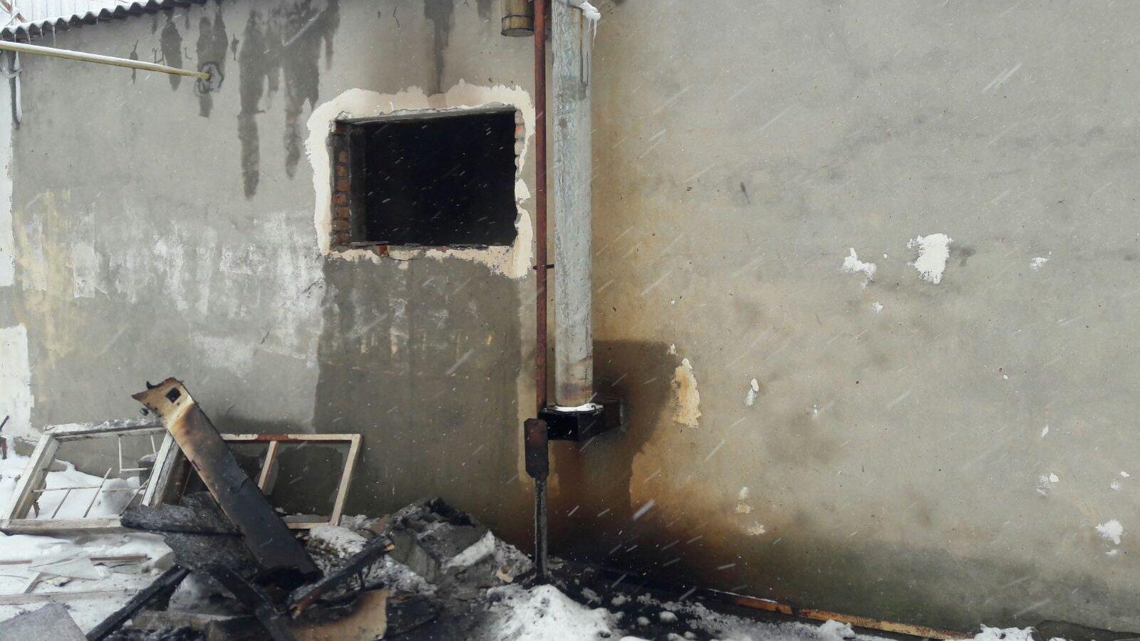 В Запорізькій області у вогні загинув чоловік