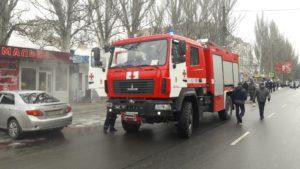 В Мелитополе горели торговые ряды, — ФОТО