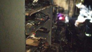 В Запорожье в страшном пожаре погиб 52-летний мужчина, — ФОТО