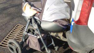 В Енергодарі водій напідпитку збив візочок з тримісячною дитиною, — ФОТО