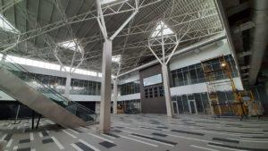 Строительство нового пассажирского терминала аэропорта Запорожья на финишной прямой, — ФОТОРЕПОРТАЖ