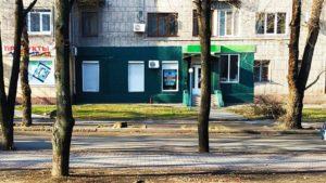 У центрі Запоріжжя підприємці знову спотворили фарбою фасад пам'ятки архітектури, – ФОТО