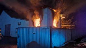 В Мелитополе на автопредприятии в пожаре погиб пожилой мужчина, — ФОТО