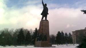 В Запоріжжі нарешті знесуть постамент, на якому стояв Ленін