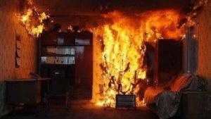 В Запорожье на пожаре погибла 82-летняя женщина