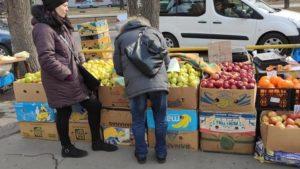У Запоріжжі розігнали стихійний ринок на проспекті Металургів, – ФОТО
