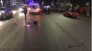 Смертельна ДТП: рано вранці у Запоріжжі під колеса авто потрапила пенсіонерка, — ФОТО