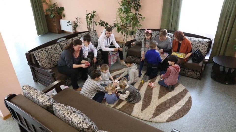 В Запорожье построили дом для многодетной семьи