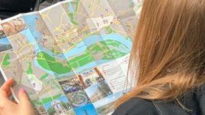 В Запорожье появилась туристическая карта на английском языке