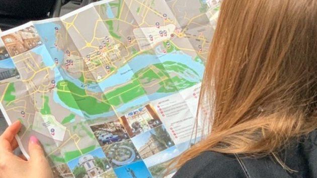 У Запоріжжі з'явилася туристична карта англійською мовою