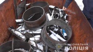 В Запорожье обнаружили незаконный пункт приема металлолома, – ФОТО