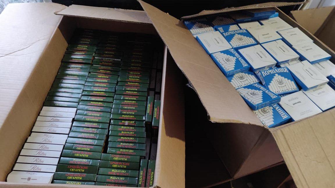 В Запорожье изъяли очередную партию контрабандных сигарет, — ФОТО