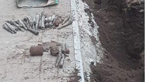На Запоріжжі на території школи знайшли цілий арсенал боєприпасів, — ФОТО