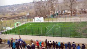 У територіальній громаді під Запоріжжям відкрили нове футбольне поле та бізнес-хаб, – ФОТО