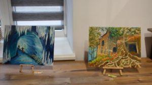 У Запоріжжі показали виставку картин особливих художників, — ФОТО, ВІДЕО