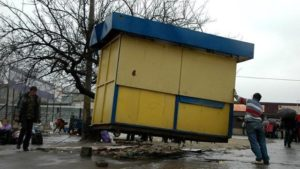 У Запоріжжі збираються демонтувати ще один кіоск, який встановили з порушеннями