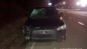 На трассе житель Запорожья насмерть сбил мелитопольца, — ФОТО