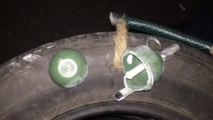 Мешканець Запоріжжя погрожував батькам кинути гранату в будинок