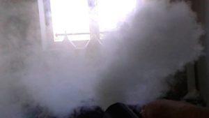 В Запорожской области произошел пожар в подвале пятиэтажного дома