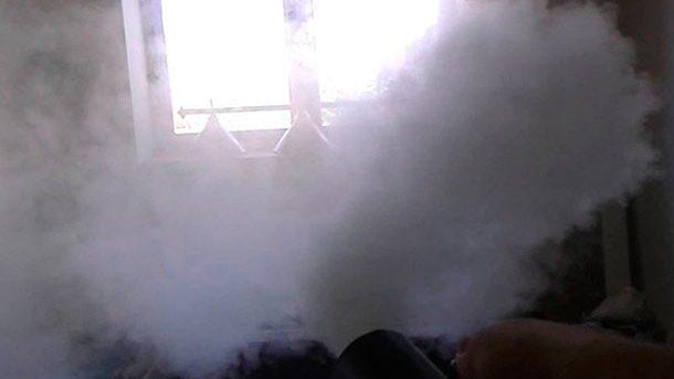 У Запорізькій області сталася пожежа у підвалі п'ятиповерхового будинку