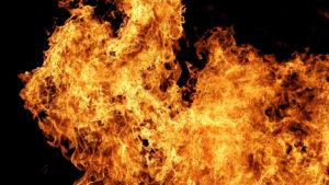 В селе Запорожской области в пожаре погиб мужчина
