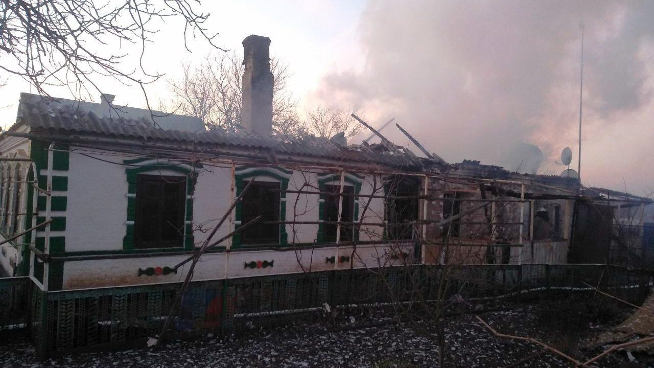 В Приморському районі в пожежі загинув чоловік