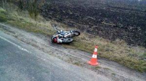 В Запорожской области в ДТП с мотоциклом пострадали два человека