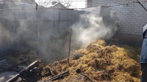 В Запорізькій області через дитячі забавки ледь не згоріло подвір'я, — ФОТО