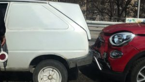 В Запоріжжі на дамбі зіткнулись три автомобілі, — ФОТО