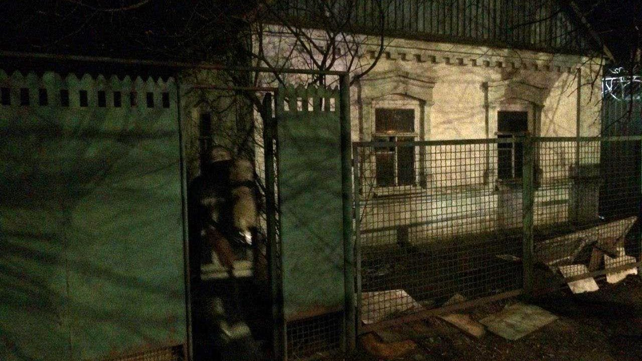 Під час пожежі в Запорізькій області постраждала 90-річна жінка, — ФОТО