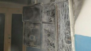 В енергодарській багатоповерхівці через електрощиток сталася пожежа, — ФОТО