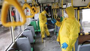 В Запорізькій області дезинфікуватимуть громадський транспорт