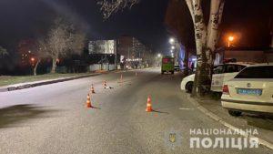 В Запоріжжі маршрутка збила жінку, яка перетинала дорогу на зелене світло